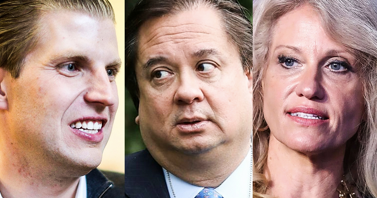 Home Media  In Tone Deaf Tweet Eric Trump Criticizes George & Kellyanne Conway's Marriage By Farron Cousins