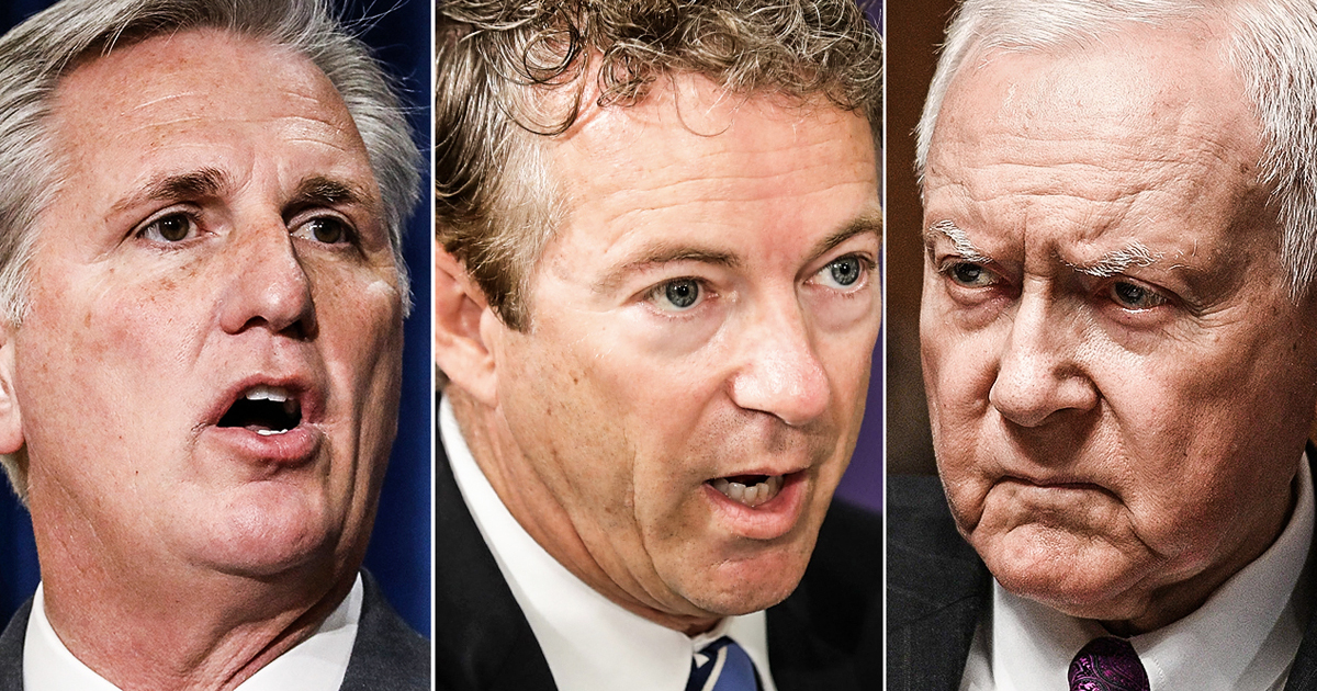 Panicked Republicans Now Say That Trump's Crimes Are Totally OK - The Ring of Fire Network