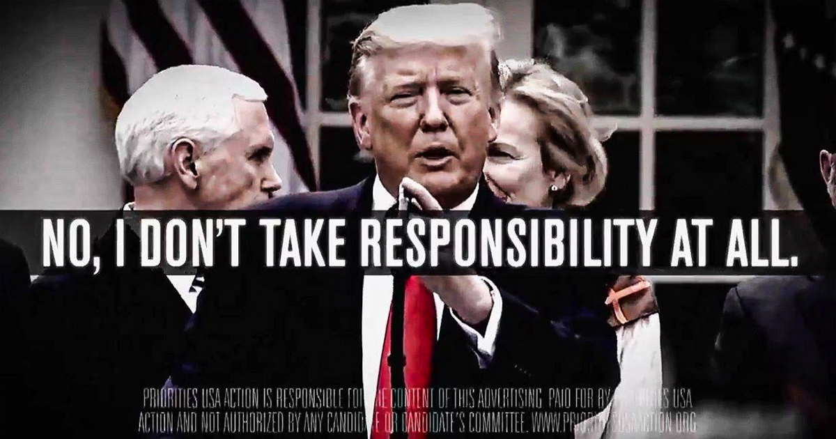 Democratic group defies Trump, ramps up ad blasting coronavirus response