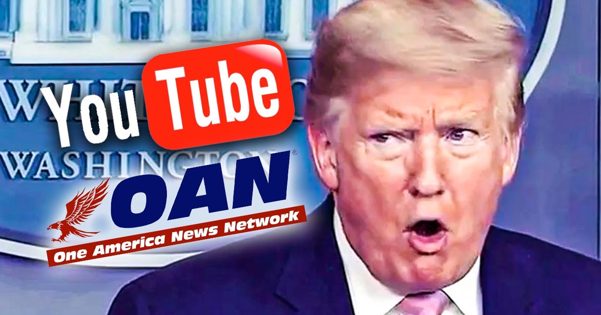OANN Comment From YouTube After Promoting Fake Treatment For Covid-19 | Youtube