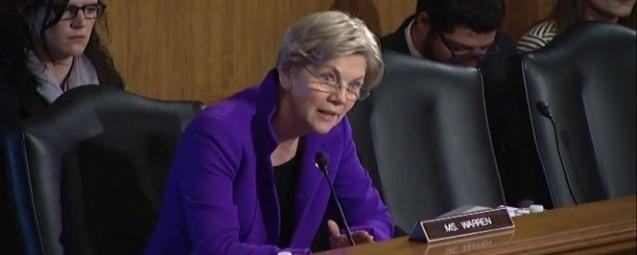 Elizabeth Warren to FHFA Director: You Haven't Helped a Single Family