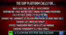 The GOP Platform Is Like Sarah Palin On Acid – The Big Picture